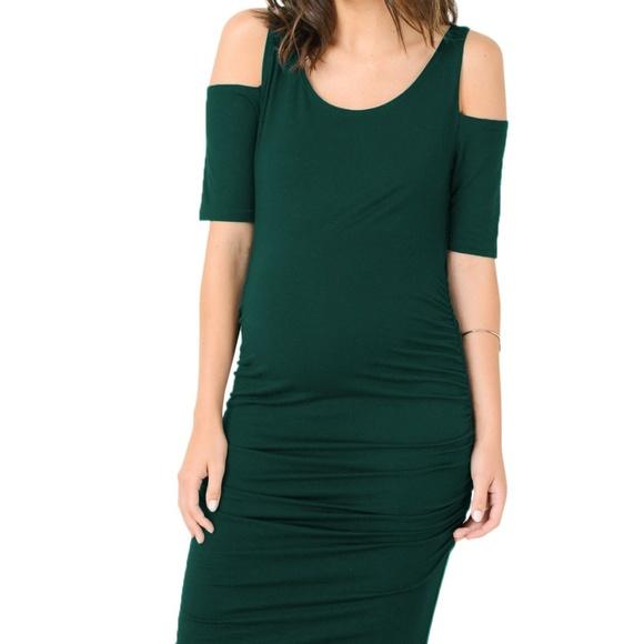 288cb35959b0f Hello Miz Dresses   Cmd1532 Cold Shoulder Maternity Dress   Poshmark
